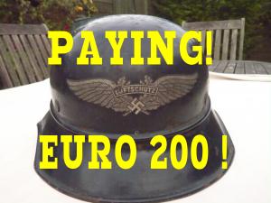 German helmet prices